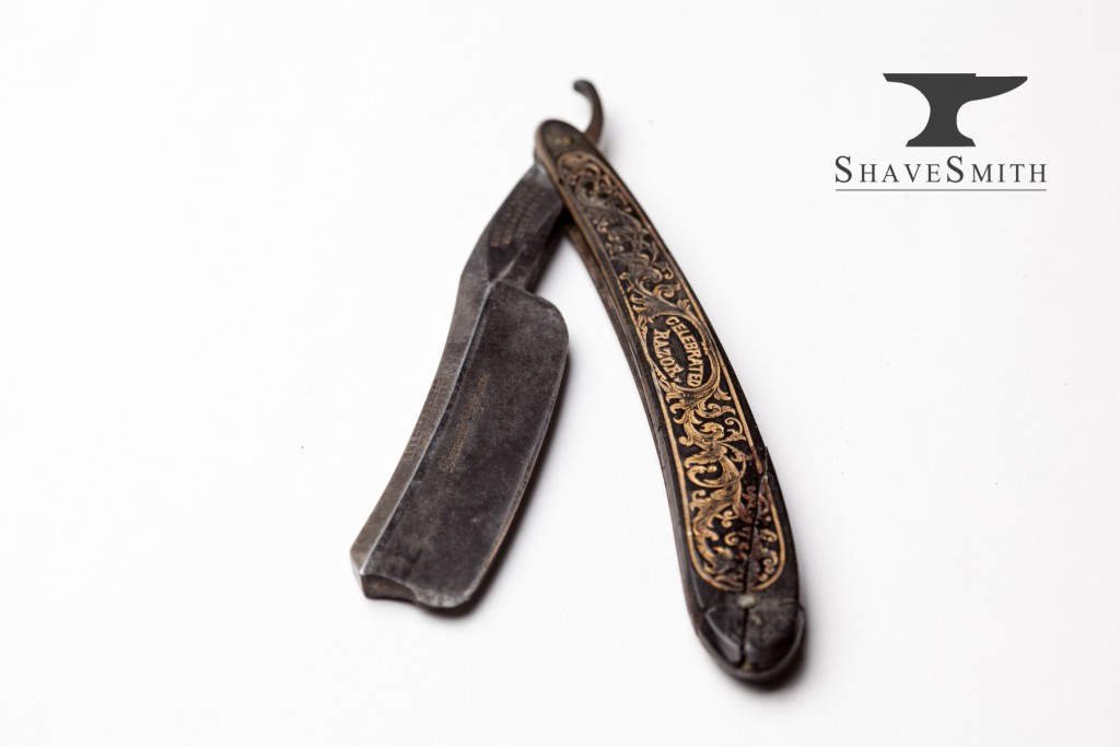 ShaveSmith Razor: Χειροποίητη φαλτσέτα ξυρίσματος, σε ιδιαίτερο σχέδιο.
