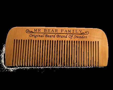 Μr Bear Family: Ξύλινη χτένα για το μούσι. ΑΠΟΚΛΕΙΣΤΙΚΗ ΔΙΑΘΕΣΗ: COPAD